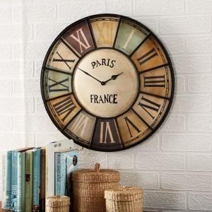 Chalet Industrial Style Metal Clock