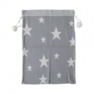 Star Knitted Grey Sack