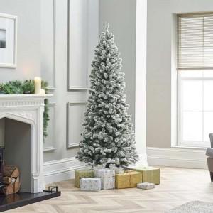 6ft Snowy Balsam Fir Artificial Christmas Tree