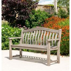 Alexander Rose Old England Garden Furniture Grey Turnberry 5FT Bench
