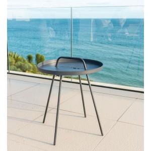 Alexander Rose Garden Furniture Rimini Tray side Table 0.45M