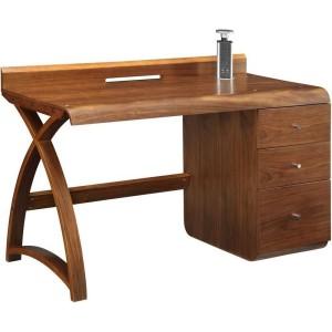 Jual Santiago Walnut Furniture 3 Drawer Pedestal Desk