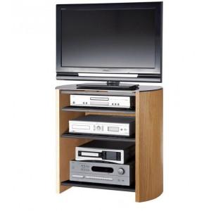 Alphason Finewoods Furniture  4 Shelf TV Stand in Light Oak