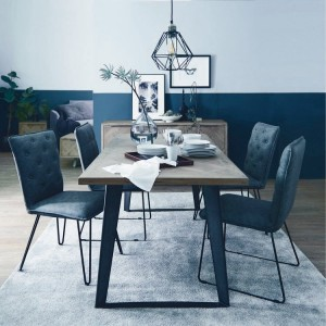 Imperial Aged Oak Furniture 140cm Fixed Top Dining Table