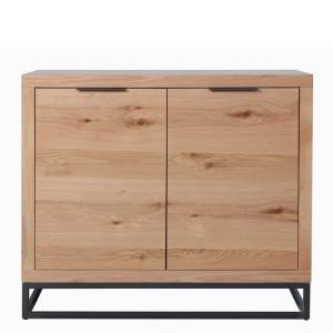 Elliptus Oak Furniture 2 Door Sideboard