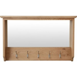 Exeter Light Oak Furniture Hall Bench Top