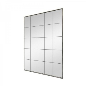 Florence Furniture Large Glass Rectangular Window Mirror