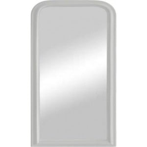 Florence Furniture White Arched Mirror