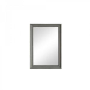 Florence Furniture Grey Rectangular Wall Mirror