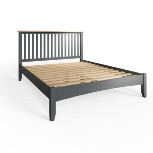 Galaxy Grey Painted Furniture Single 3ft Bed