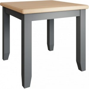 Galaxy Grey Painted Furniture Flip-Top Dining Table