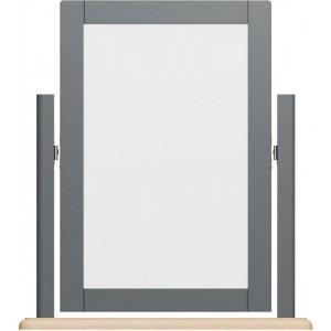 Galaxy Grey Painted Furniture Trinket Mirror