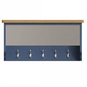 Wittenham Blue Painted Furniture Hall Bench Top