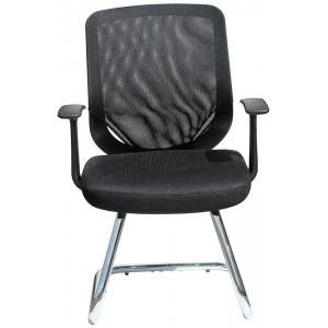 Alphason Furniture Atlanta Black Mesh Fabric Office Chair
