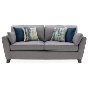 Vida Living Furniture Cantrell Grey Fabric 2 Seater Sofa