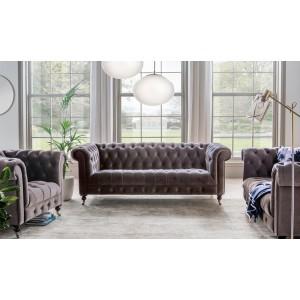 Vida Living Furniture Darby Mink 3 Seater Sofa
