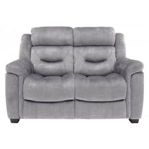Vida Living Furniture Dudley Grey Fabric 2 Seater Sofa
