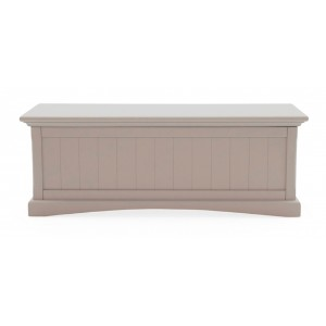 Vida Living Furniture Turner Grey Painted Blanket Box