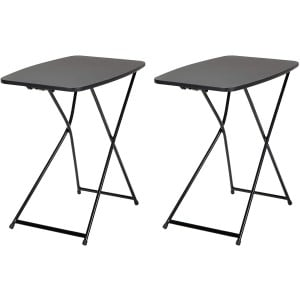 Cosco Folding Furniture Adjustable Height Activity 2-Pack Folding Table