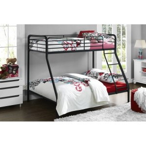 Contemporary Metal Furniture 3ft Convertible Single Over Single Bunk Bed