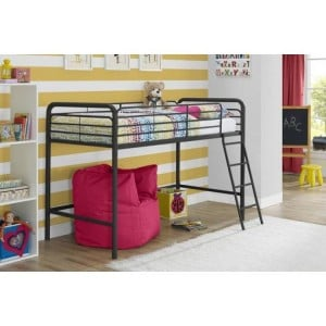 Contemporary Metal Furniture 3ft Single Mid sleeper Bunk Bed