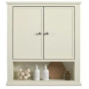Franklin Wooden Furniture White Wall Cabinet