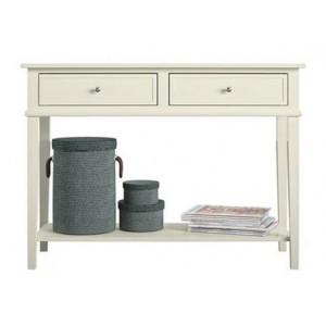 Franklin Wooden Furniture White Writing Desk