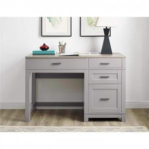 Pontardawe Painted Furniture Grey Lift Top Desk