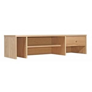 Alphason Furniture Oakwood Veneered Top Shelf Straight Hutch