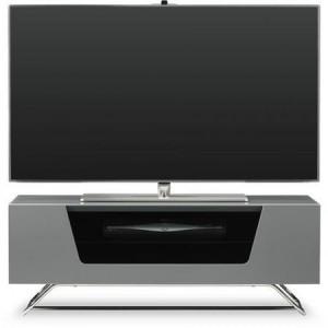 Alphason Furniture Chromium Grey High Gloss TV Stand