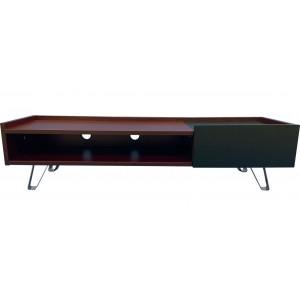 Alphason Furniture Bella 1 Drawer Brown TV Stand