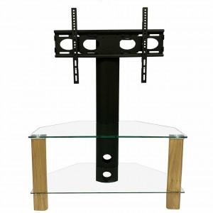 Alphason Furniture Century Light Oak 2 Shelf TV Stand with Bracket