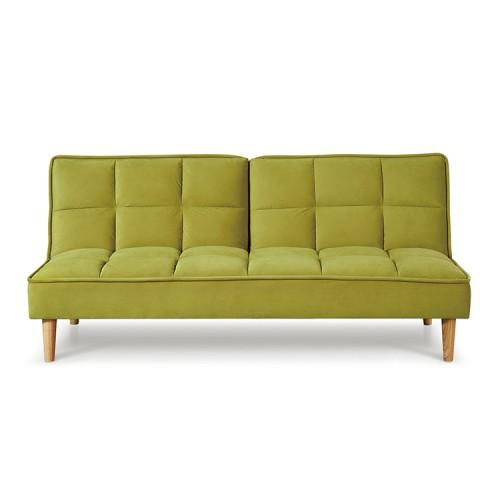 Vida Living Furniture Lokken Green Velvet Sofa Bed