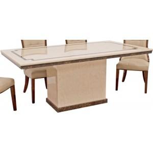 Vida Living Alfredo Marble Furniture 120cm Dining Table