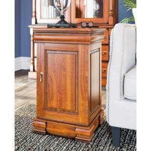 La Reine Mahogany Furniture Light Brown Lamp Table / Bedside Cabinet