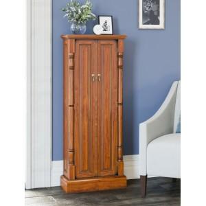 La Reine Mahogany Furniture Light Brown DVD / CD Storage Cupboard
