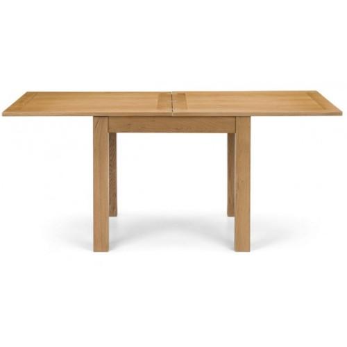 Julian Bowen Oak Furniture Astoria Flip Top Dining Table