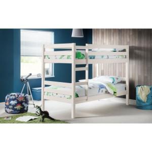 Julian bowen Surf White Painted Furniture Camden Bunk Bed