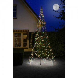 4m Fairybell 640 Multicolour LED Outdoor Christmas Tree