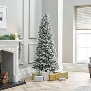 5ft Snowy Slim Balsam Fir Artificial Christmas Tree