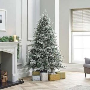 6ft Premium Snowy Grand Fir Artificial Christmas Tree