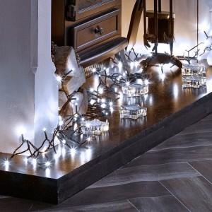 600 Cool White LED String Christmas Lights
