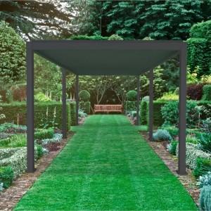 Nova Garden Furniture Titan Grey 6m x 3m Rectangular Aluminium Pergola