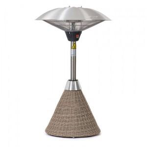 Nova Outdoor Living 2100w Willow Rattan Table Top Patio Heater