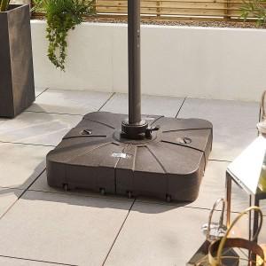 Nova Garden Furniture 100 Litre Sand & Water Fillable Cantilever Parasol Base