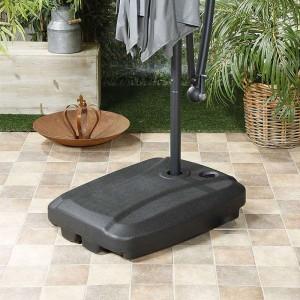 Nova Garden Furniture 60 Litre Sand & Water Fillable Cantilever Parasol Base