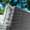 Nova Garden Furniture Cambridge Grey Compact Set with Parasol Hole