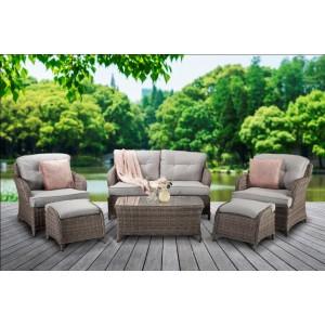 Signature Weave Garden Furniture Harriet Cottage Style Sofa Set