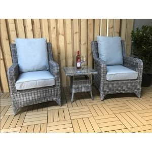 Signature Weave Garden Furniture Sarah 3 Piece Lounge Set