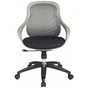Alphason Office Furniture Croft Grey Mesh Fabric Office Chair